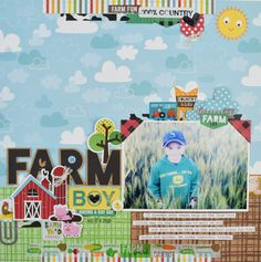 Bella Blvd | Barn Yard Collection | Layout by Becki Adams