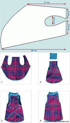 Russian page with some different pattern pictures of dog coats Sew odezhku for dogs. Dog Clothes Patterns, Coat Patterns, Sewing Patterns, Small Dog Clothes, Pet Clothes, Animal Clothes, Dog Coat Pattern, Dog Jacket, Dog Sweaters