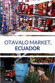 Otavalo Market, Ecuador - travelsandmore