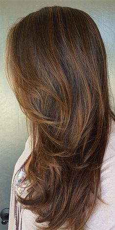 Loving this incredibly gorgeous brunette color