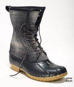 "Signature 10"" Wool L.L.Bean Boot"