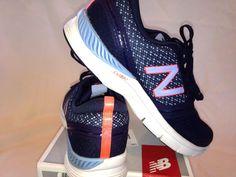New Balance Women's Walking Sneaker WX711NV Navy/Lavender/White Size 11B #NewBalance #Walking