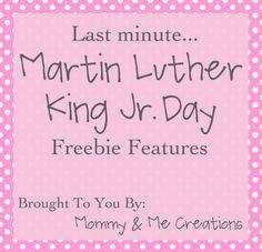 Martin Luther King Jr. Freebie Printables