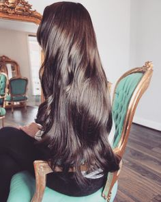 "24"" Luxury Remy Brunette Hotloxs Hair Extensions Extra long Hair www.instagram.com/hotloxshair"