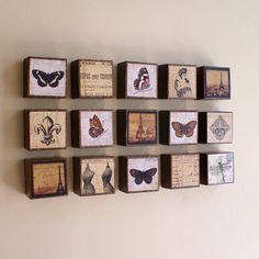 Small Art Blocks, Set of 3