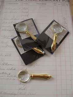 Your place to buy and sell all things handmade Magnifying Glass, Rhinestone Jewelry, Brass, Sherlock Holmes, Chain, Pendant, Etsy, Paper, Necklaces