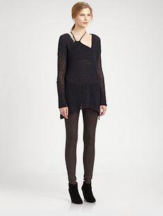 Helmut Lang - HELMUT Lux Oversized Sweater - Saks.com