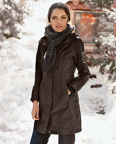 WeatherEdge® Girl on the Go® Insulated Trench Coat | Eddie Bauer