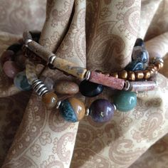 Four Strand Bracelet by MomentsofChaos on Etsy