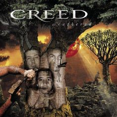 Creed - Weathered Cover Art - 2001 Wind-Up Records Promo Poster / Scott Stapp / Mark Tremonti Grunge, Hard Rock Songs, Scott Stapp, Friday Music, Mark Tremonti, Indie, Listen To Free Music, Wall Of Sound, Hardcore
