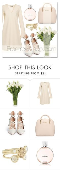 """1021-2"" by frontrowshop ❤ liked on Polyvore featuring NDI, Gianvito Rossi and Ted Baker"