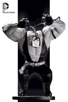 BATMAN BLACK AND WHITE: BANE STATUE BY KELLEY JONES