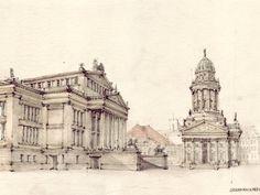 Urban Sketchers: Zeichner skizzieren Berlin- Berliner Zeitung