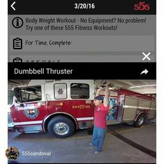TRAIN HARD DO WORK   WHEN YOU SPOT YOURSELF ON A FITNESS APP   #Repost @555sandoval Who's that handsome guy??? #555fitness #555fitfam #firefighterfitness #famous#instarepost20 _____________________________________  Want to be featured? Show us how you train hard and do work   Use #555fitness in your post and tag your friends for fun! ______________________________________ 555 Fitness is a Firefighter driven and operated non-profit organization. Our goal is to reduce the leading killer of…