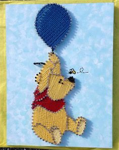 Kid Friendly Theme Custom Made String Art by MyHeartIsAlwaysHome