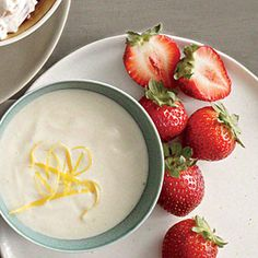 Honey and Lemon Dip - Low-Calorie Dips and Spreads - Cooking Light