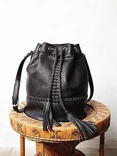 Tempest Bucket Bag: high quality , perfect vegan leather ,i love it .