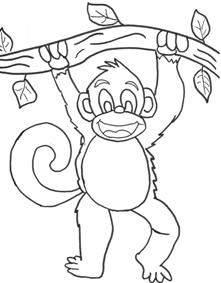 Printable Monkey Crafts   Free Template Printable ...