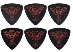 Clayton Black Raven Guitar Picks Select from gauges 38mm  126mm * For more information, visit image link.Note:It is affiliate link to Amazon.