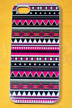 Tribal print iPhone case <3