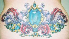 Jewels and ribbons Tattoo