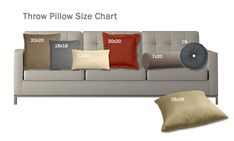 How To Choose Throw Pillows Sizes And Shapes Pillow