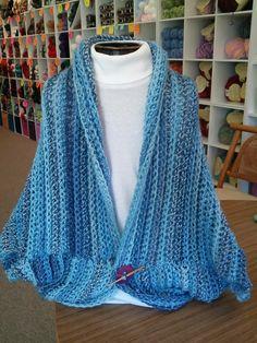 Ravelry: Crochet Marble Chunky Shrug pattern by The Knitting Closet