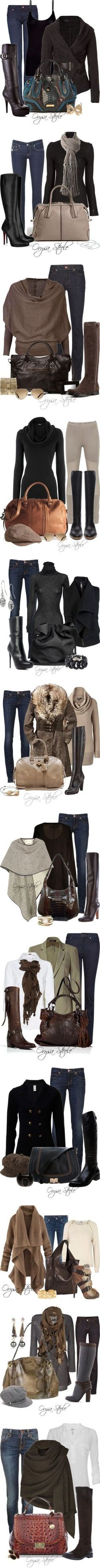 Fall outfits for when the evenings start to get cooler.