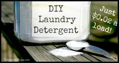 DIY Laundry Detergent - $0.02 a Load! - The Paleo Mama
