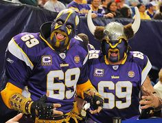 "Minnesota Vikings...this is ""Purple Rain"""