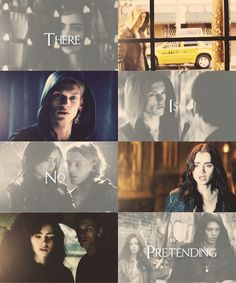 """There is no pretending. I love you, and I will love you until I die, and if there is a life after that I'll love you then."" <- my favorite Jace quote (:"