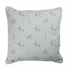{Living Room} // Sophie Allport Stag Cushion