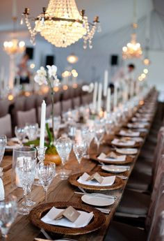 Banquet tables instead of round tables would make guest seating assignment easier.