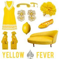 Yellow Fever....I love it all Mrs. Lillian!