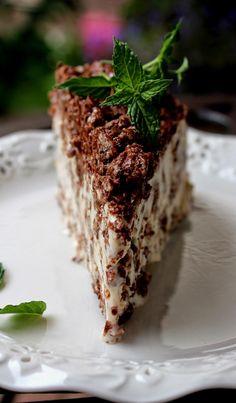 Cooking with Zoki: Nutella Crunch Ice Cream Cake