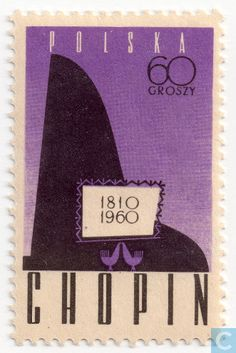 Poland [POL] - Stylised piano 1960 Stamp World, Going Postal, Stamp Catalogue, Throwback Thursday, Stamp Collecting, Mail Art, Drawing People, Postage Stamps, Paper Art
