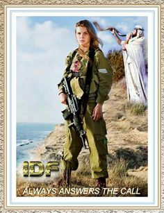 IDF Woman soldier.  God bless and keep them all, particularly the women, keep them and their virtue safe, Lord.