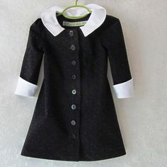 Toddler Girl's Wednesday Addams Little Black by EraOfMakeBelieve
