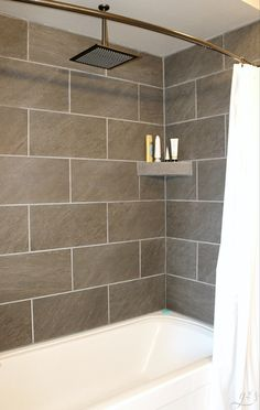 29 Popular Bathroom Shower Tile Design Ideas And Makeover. If you are looking for Bathroom Shower Tile Design Ideas And Makeover, You come to the right place. Here are the Bathroom Shower Tile Design. Diy Bathroom, Shower Surround, Diy Tile Shower, Trendy Bathroom, Bathroom Remodel Master, Bathroom Shower Tile, Master Suite Bathroom, Simple Bathroom, Tub Remodel