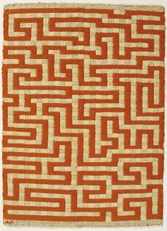 The Bauhaus Textiles of Anni Albers