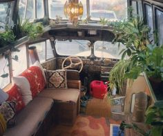 Beautiful bohemian bus