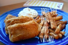 The Geeky Gal: Tofu Fish and Chips!