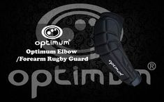Shop Optimum Unisex Senior Elbow Forearm Guard - Black/Silver, One Size. Arm Guard, Life Savers, Rugby, Flexibility, Perfect Fit, Training, Awesome, Sports, Products