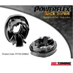 Peugeot 207 Powerflex Black Series Rear Lower Engine Mount Insert