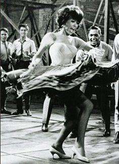 "Rita Moreno, West Side Story. ""I like to live in AH-Mer-Ree-Kaa"""