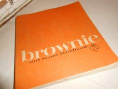 Vintage Brownie Girl Scout Handbook by TotallyVintage on Etsy, $8.75