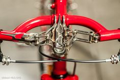 Sunrise Cycles from Tokyo, Japan had perhaps the most eye catching bike at the 2014 NAHBS. Builder Yu Takai's personal bike, this..