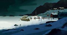 Frozen Lake - The Long Dark