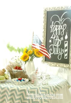 Simply Suzanne's AT HOME: fourth of July inspirations