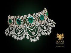 Add a special touch to your wedding trousseau with #RareHeritage #Jewelry #Jewels #Diamonds #Mumbai